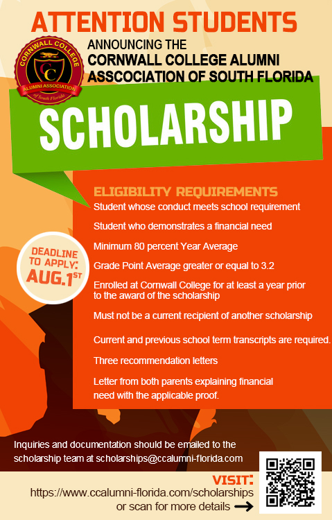 Announcing our 2021 Scholarships